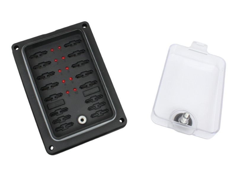 waterpoof blade fuse box leds way volt planet